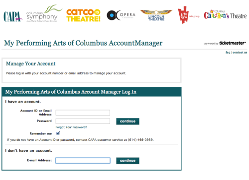 3 - Sign in screen - Account creation