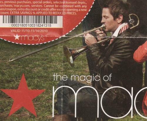 Macy's Trombone ad
