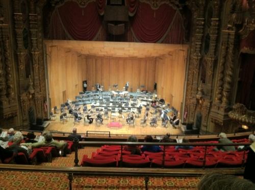 Ravel Bruckner concert view