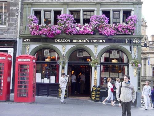 Deacon Brodie's Tavern - Edinburgh
