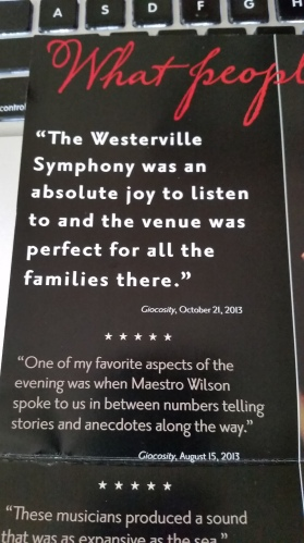 Westerville Symphony Mailer 2