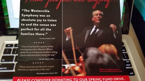 Westerville Symphony Mailer 1