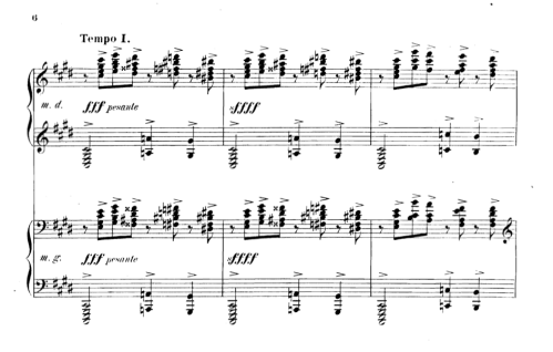 Rachmaninoff Prelude in C# Minor
