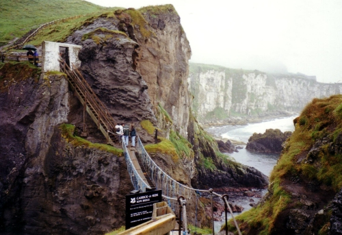 Carrick-a-rede Bridge - Ulster