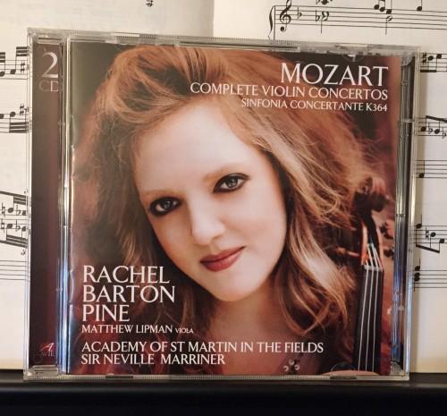 Rachel Barton Pine - Mozart Complete Violin Concertos