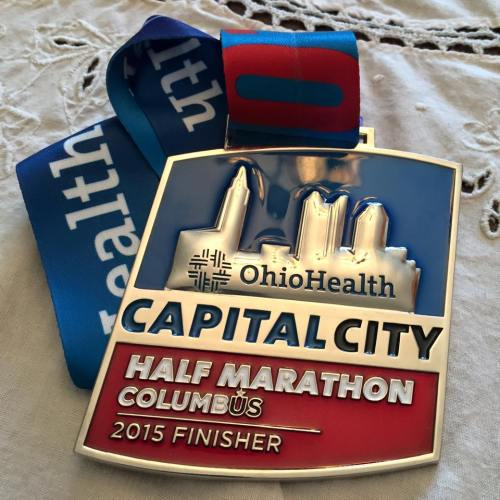 Cap City Medal